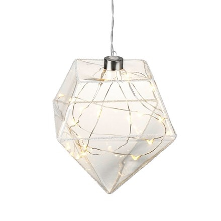 LED hanging diamond