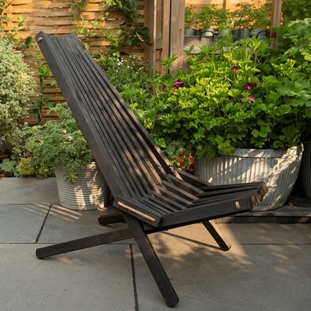 Nordeck chair black pine