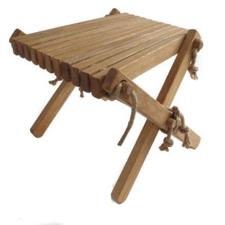 Nordeck side table - oak