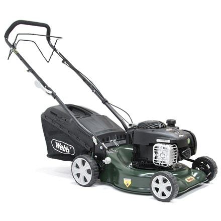 Webb self propelled steel deck petrol rotary mower R16SP 16""