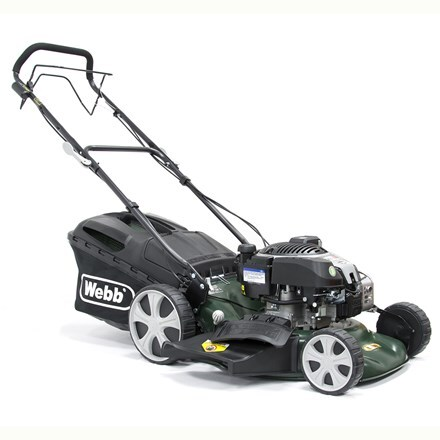 Webb self propelled steel deck electric start mower R18SPES 18""