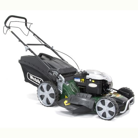 Webb self propelled steel deck high wheel mower R21HW 21""