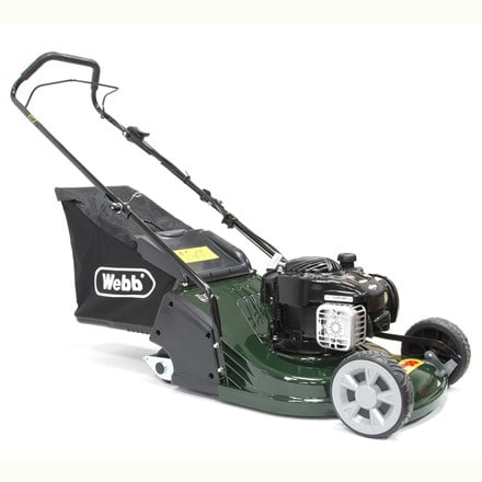 Webb push ABS deck petrol rotary mower RR17P