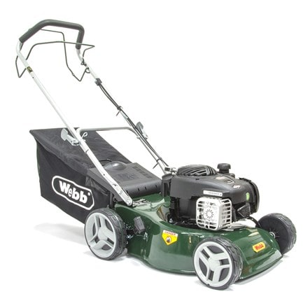 Webb self propelled steel deck petrol rotary mower RR42SP