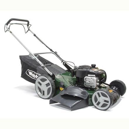 Webb self propelled steel deck petrol rotary mower R51HW
