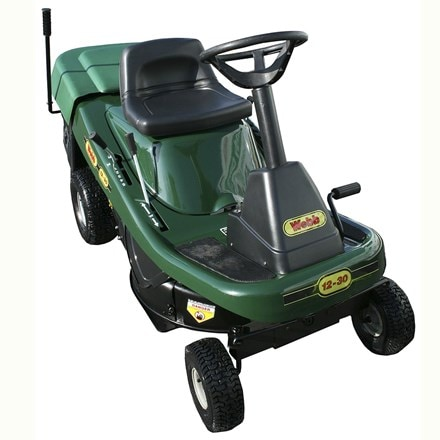 "Webb 12530 30"" ride-on lawnmower c/w collector"