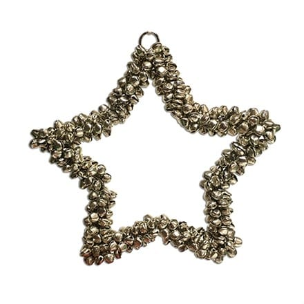 Beaded hanging star