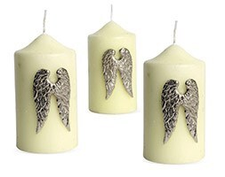 Candle jewellery - wings