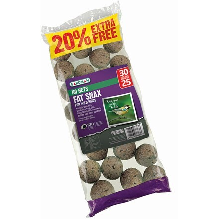 No net fat snax 25 pack + 20% extra free