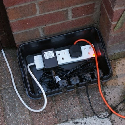 Dri-box weatherproof electrical enclosure box