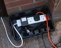 Dri-box weatherproof electrical enclosure box