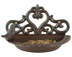 Hanging wall feeder with gift box
