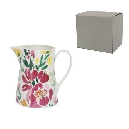 Sweetpea ceramic jug