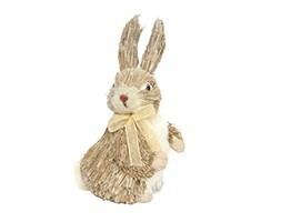 Brown bristle bunny ornament