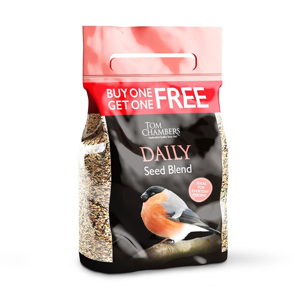 Daily seed blend 2kg buy one get one free