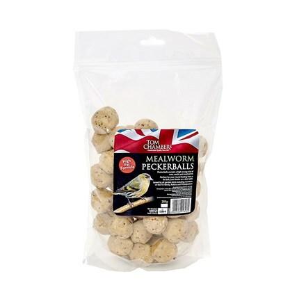 Mealworm peckerballs