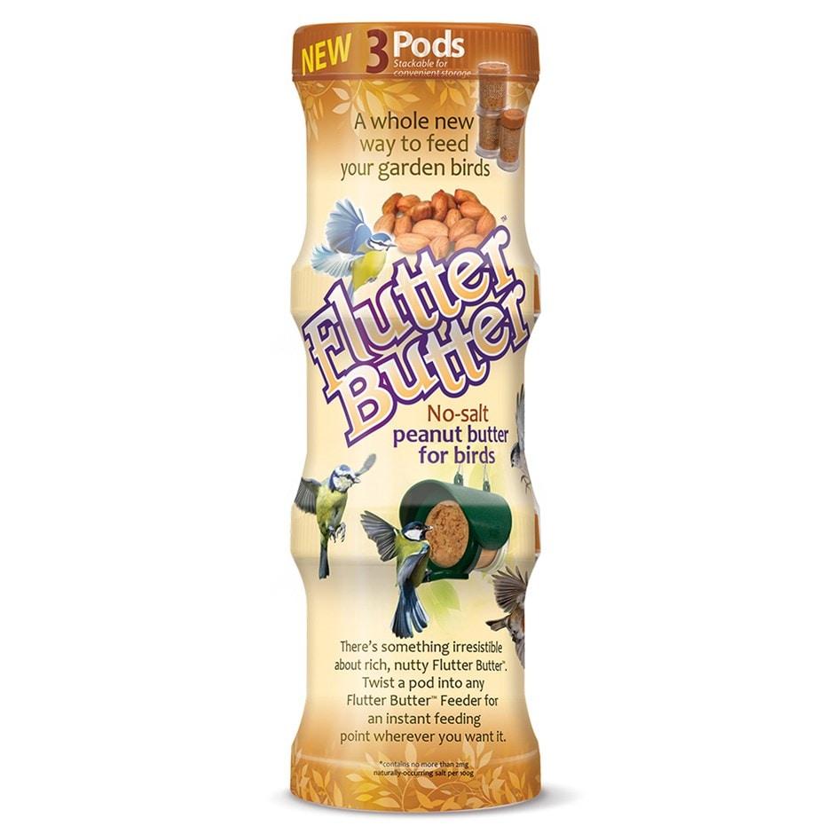 Flutter butter pod triple pack original