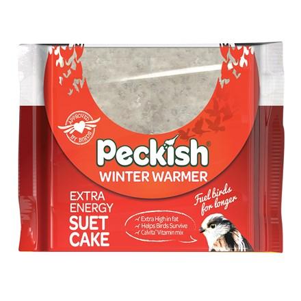 Winter warmer suet cake