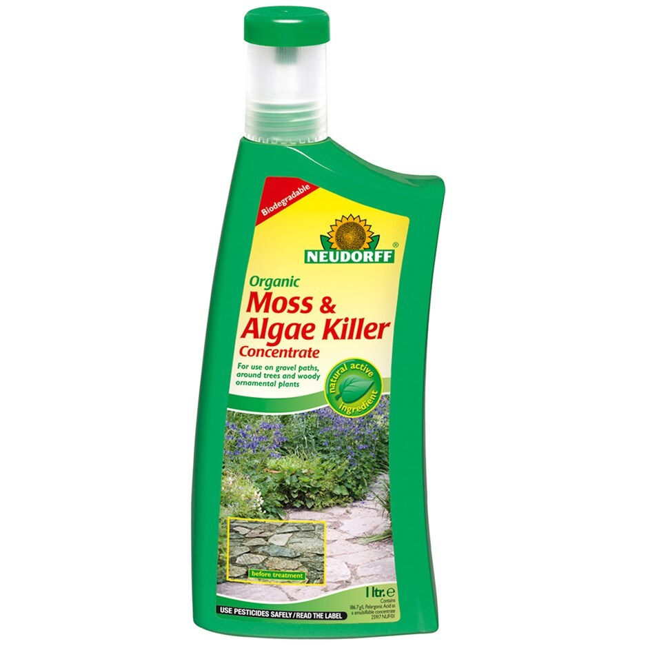 Organic moss and algae killer 1 litre