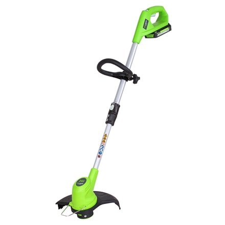 Cordless Greenworks G24LTK2 24V string trimmer