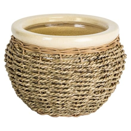 Seagrass pot cover