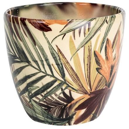 Monza planter - tropical tango