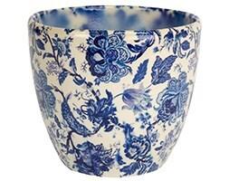 Monza planter - vintage blue