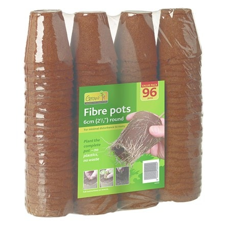 Fibre pots value pack
