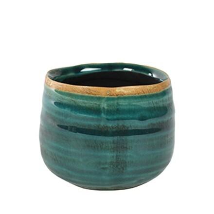 Cacti como pot - turquoise
