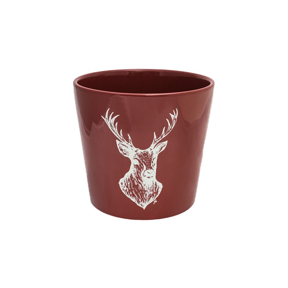 Woodland planter stag
