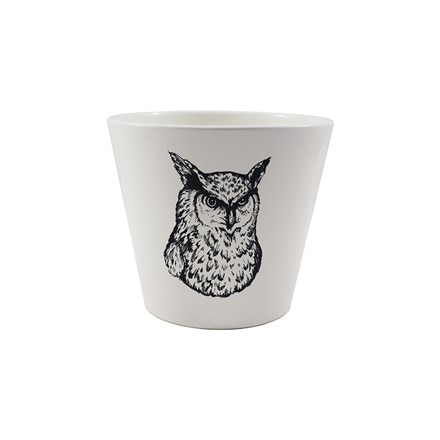 Woodland planter - owl