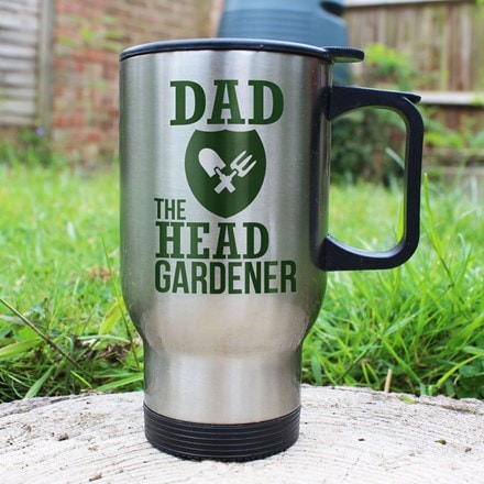 Personalised head gardener's mug