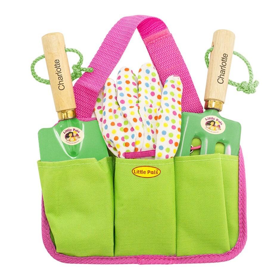 Buy Personalised Kids Gardening Tool Kit Delivery By Crocus