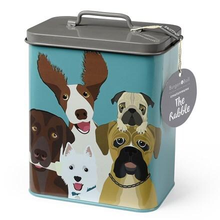 The rabble dog tin