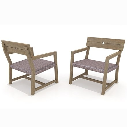 Oban lounge armchair