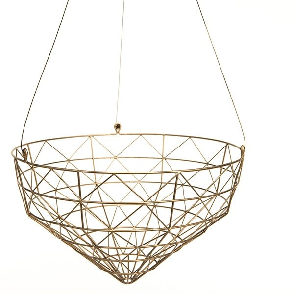 Large geo hanging basket