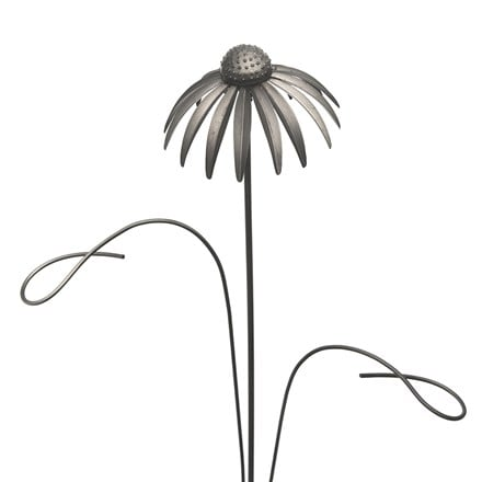 Echinacea stake with two stem support loops