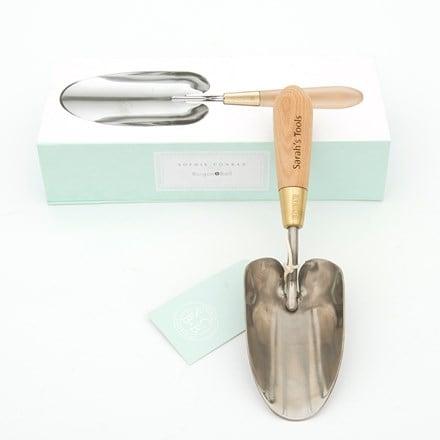 Personalised Sophie Conran trowel gift boxed
