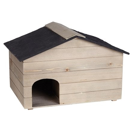 Hedgehog house slate effect roof