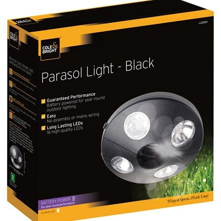 Parasol light black