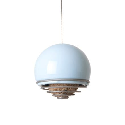 Birdball belle feeder blue