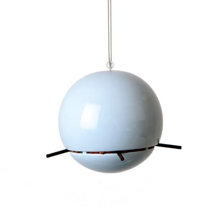 Birdball peanut feeder blue