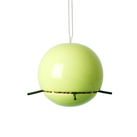 Birdball peanut feeder lime