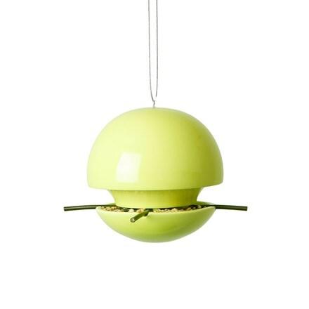 Birdball seed feeder lime