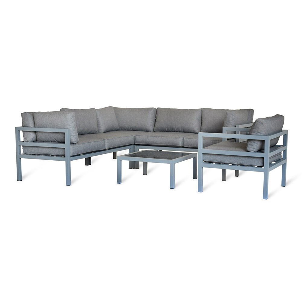 Br Thult Corner Sofa Bed Review: Buy West Strand Corner Sofa Set: Delivery By Crocus