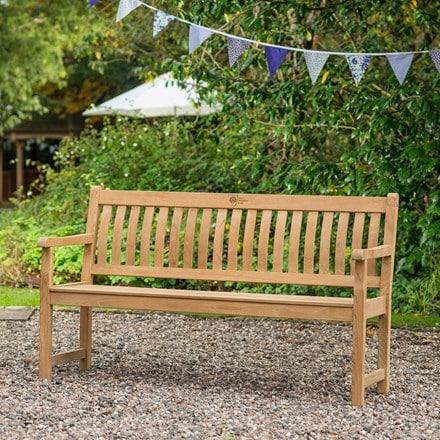 RHS Kettler chelsea acacia bench