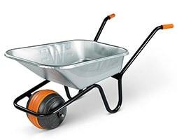 Boxed galvanised duraball wheelbarrow