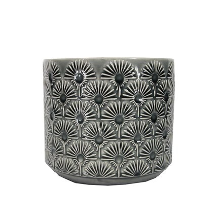 Charcoal fan ceramic pot cover