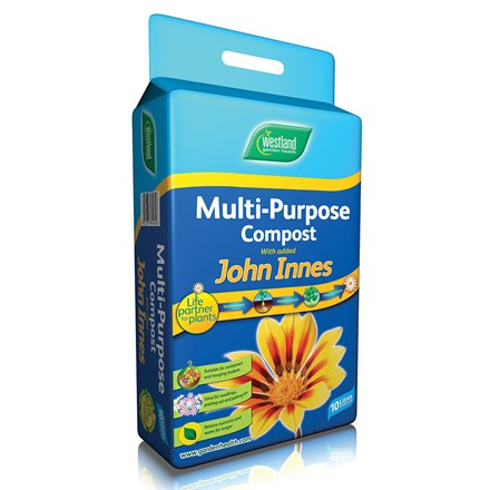Westland multi purpose compost with John Innes pouch