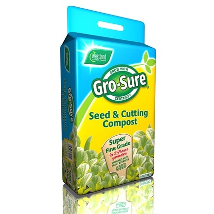 Gro sure seed and cutting compost pouch